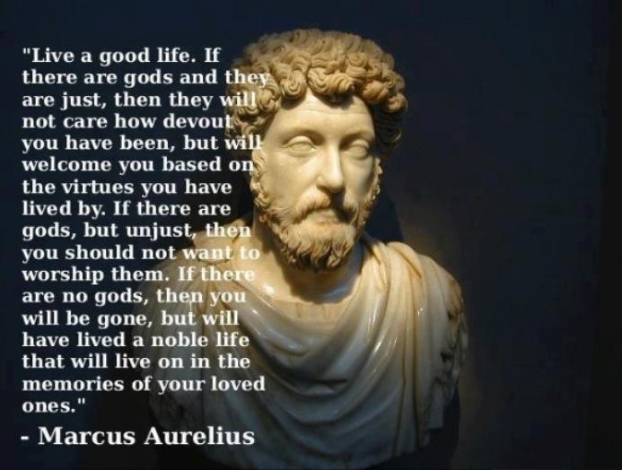 In Bed, With Marcus Aurelius