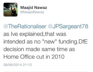 Maajid Nawaz dfe
