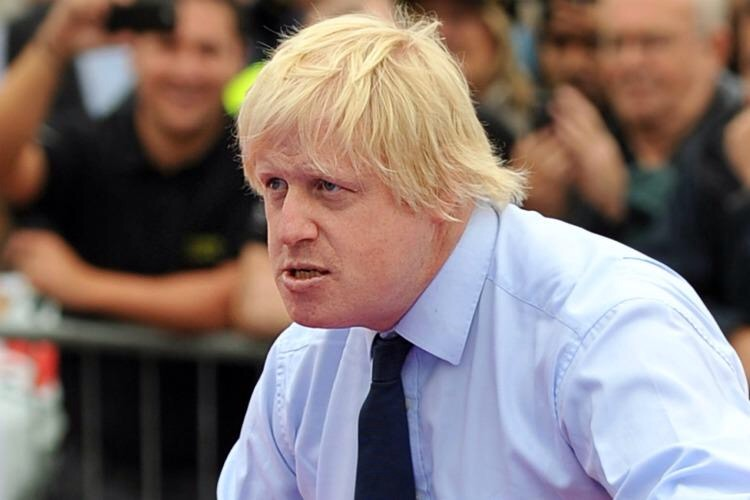Image result for boris johnson young